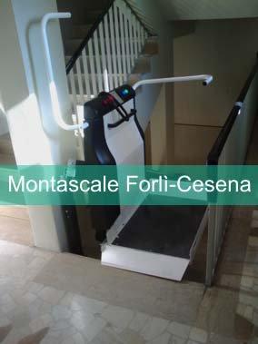 Installazione montascale forl cesena for Boccato montascale