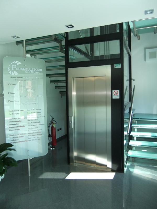Boccato ascensori rosolina pompa depressione for Boccato montascale