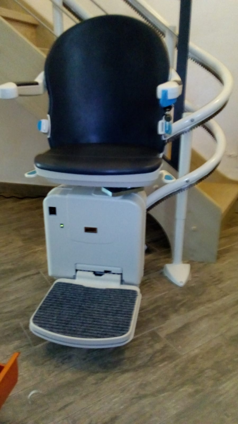 Minivator 2000 con sedile color zaffiro