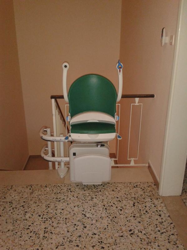 Servoscala installato a Malalbergo (BO).