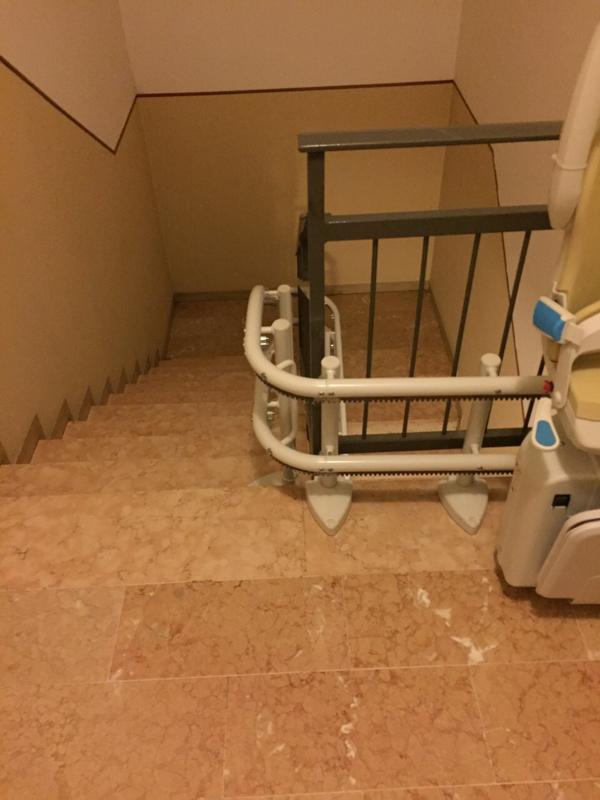 Arrivo sul pianerottolo - Boccato ascensori srl
