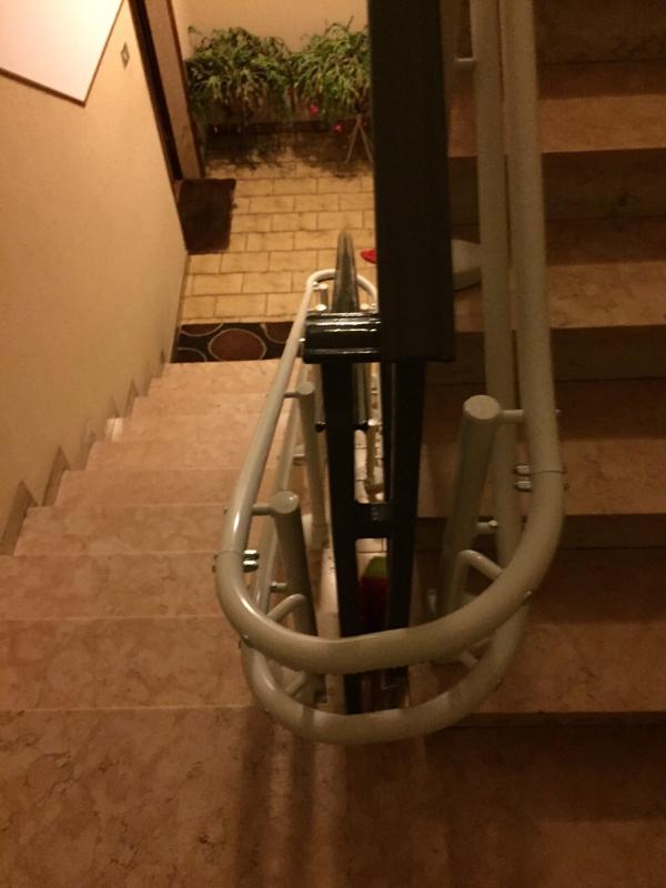 Partenza con curva a 180° - Boccato ascensori srl