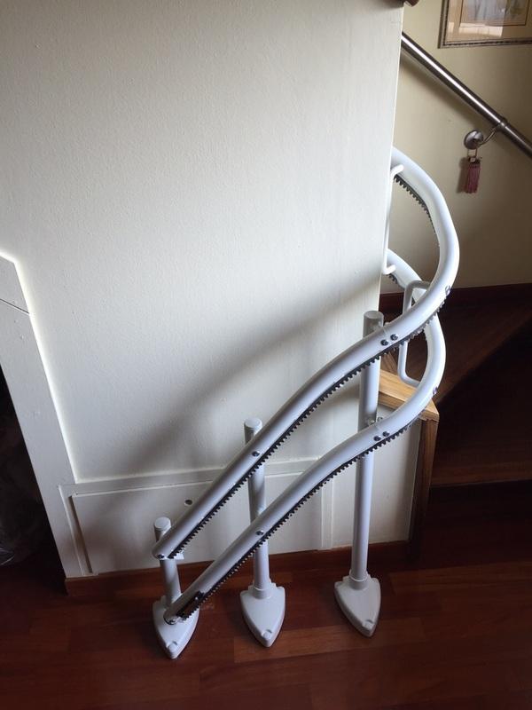 Partenza con curva a 90° - Boccato ascensori srl