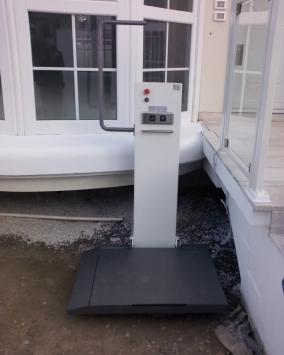 Pedana per piccoli dislivelli installata a Chioggia (VE)