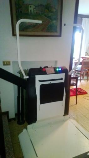 Portacarrozzina modello Faboc Olympia installato Conselve.
