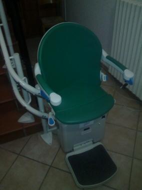 Sedile colore giada - Boccato Ascensori Srl