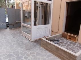 Installazione Montascale domestico, elevatore in vetro