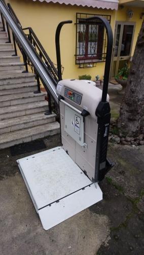 Pedana al parcheggio inferiore - Boccato ascensori srl